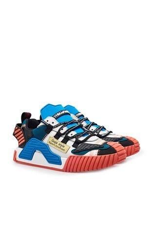 Guja Sneaker Bayan Ayakkabı 38921Y344 BEYAZ-TURUNCU