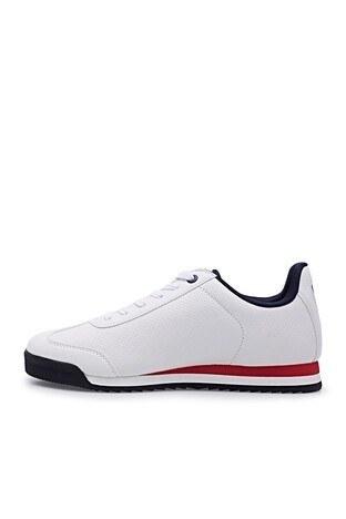 Hammer Jack Günlük Spor Erkek Ayakkabı 101 21540-M BEYAZ-KIRMIZI