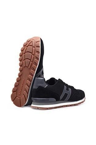 Hammer Jack Hakiki Deri Günlük Spor Erkek Ayakkabı 101 20028-M SİYAH-FÜME