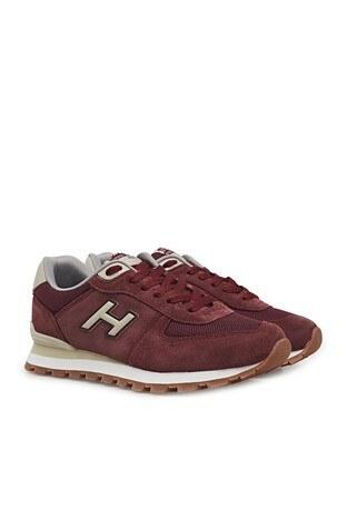 Hammer Jack Hakiki Deri Peru Bayan Ayakkabı 102 19250-G BORDO