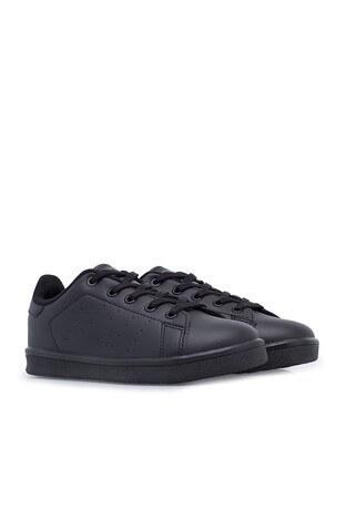 Hammer Jack Sneaker Unisex Çocuk Ayakkabı 566 203-F SİYAH