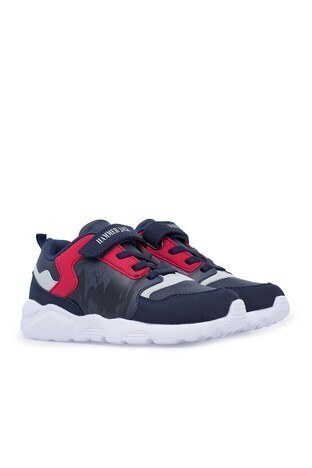 Hammer Jack Sneaker Unisex Ayakkabı 566 513-E-F LACİVERT-KIRMIZI
