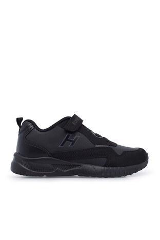 Hammer Jack - Hammer Jack Sneaker Unisex Çocuk Ayakkabı 566 517-F SİYAH-FÜME