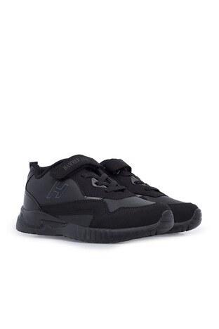 Hammer Jack Sneaker Unisex Çocuk Ayakkabı 566 517-F SİYAH-FÜME