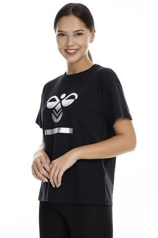 Hummel Benita Kadın T Shirt 910641-2001 SİYAH