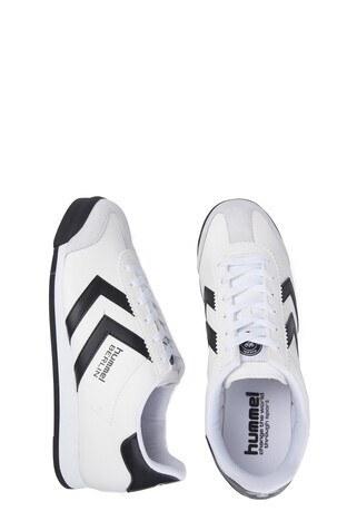 HUMMEL Erkek Ayakkabı 2042109145 BEYAZ-SİYAH
