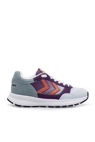 Hummel - Hummel Günlük Spor Unisex Ayakkabı 212508-7986 Açık Mavi-Mor