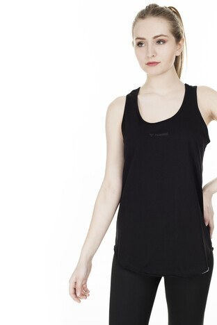 Hummel Kadın T Shirt 910836-2001 SİYAH