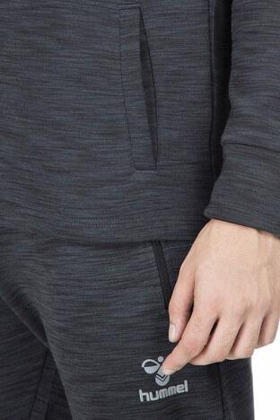 Hummel Melker Kapüşonlu Erkek Sweat 920520-2800 KOYU GRİ