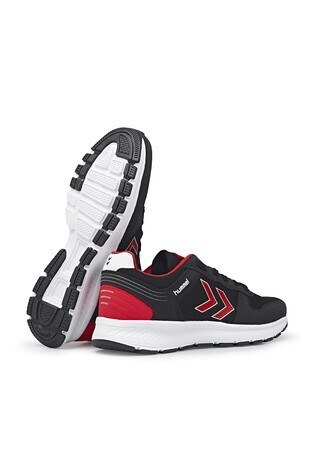 Hummel Porter Günlük Spor Unisex Ayakkabı 212629-2025 SİYAH-KIRMIZI