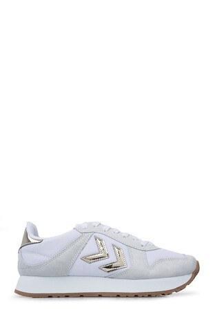 Hummel Spor Kadın Ayakkabı 206311-9001 BEYAZ
