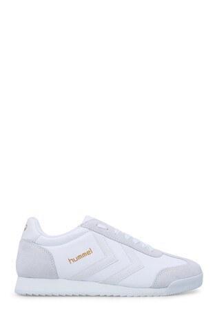 Hummel Unisex Ayakkabı 208208-9425 BEYAZ-BEYAZ