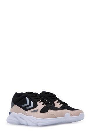 Hummel York Kadın Ayakkabı 205640-1086 Siyah-Gülkurusu