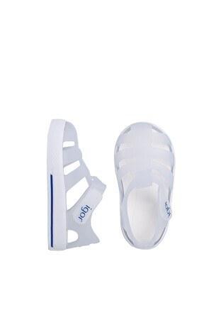Igor Star Unisex Çocuk Sandalet S10171 BEYAZ