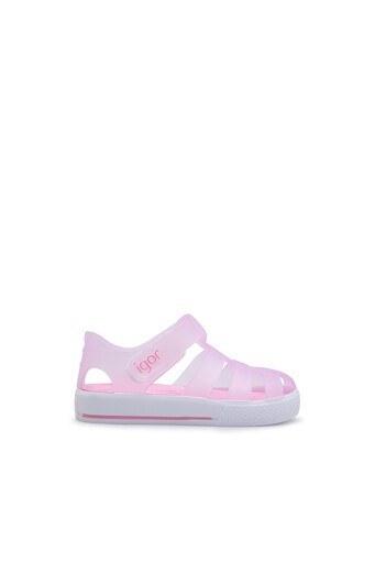 Igor Star Unisex Çocuk Sandalet S10171 PEMBE