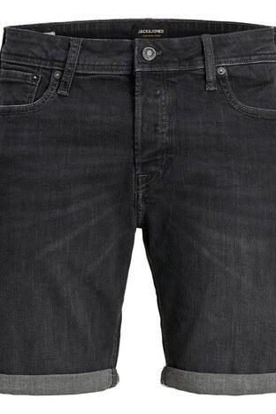 Jack &J ones Jeans İntelligence Jjırick Kot Erkek Short 12170404 SİYAH