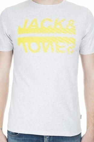 Jack & Jones Core Jcobooster Erkek T Shirt 12174417 AÇIK GRİ