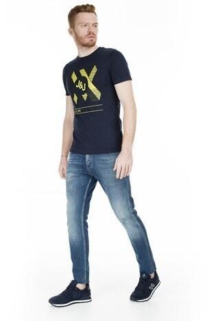 Jack & Jones Core Jcobooster Erkek T Shirt 12174417 KOYU LACIVERT