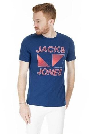 Jack & Jones Core Jcobooster Erkek T Shirt 12174417 LACİVERT