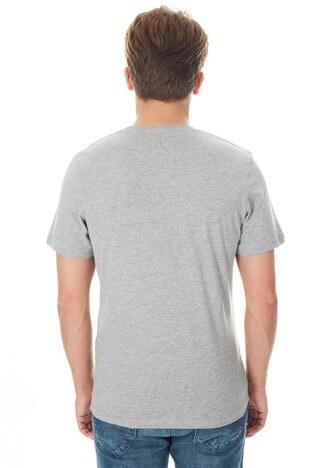 Jack & Jones Core Jcobooster Tee Erkek T Shirt 12149273 AÇIK GRİ