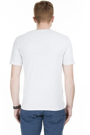 Jack & Jones Core Jcobounce Erkek T Shirt 12167333 AÇIK GRİ