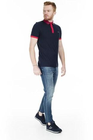 Jack & Jones Core Jcocharming T Shirt Erkek Polo 12167174 KOYU LACIVERT