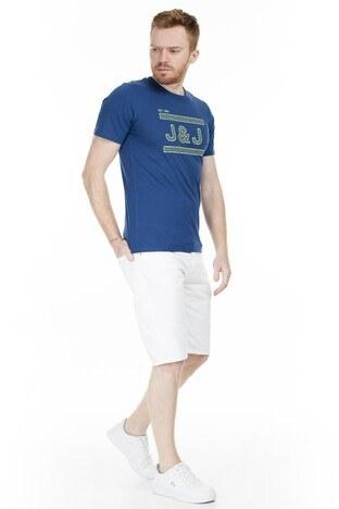 Jack & Jones Core Jcocomplete Erkek T Shirt 12167303 LACİVERT