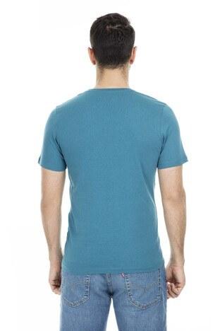 Jack & Jones - Jack & Jones Core Jcodustin Tee Sıfır Yaka Erkek T Shirt 12148559 PETROL