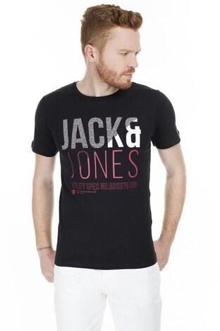 Jack & Jones Core Jcofoke Erkek T Shirt 12172215 SİYAH