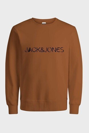 Jack & Jones - Jack & Jones Core Jcohan Erkek Sweat 12201843 CAMEL