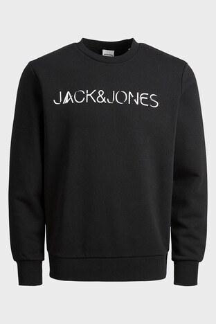 Jack & Jones - Jack & Jones Core Jcohan Erkek Sweat 12201843 SİYAH