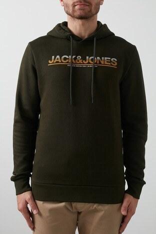 Jack & Jones Core Jcojumbo Erkek Sweat 12182888 KOYU YEŞİL