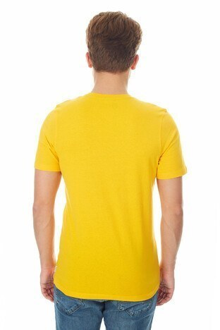 Jack & Jones - Jack & Jones Core Jcokings Erkek T Shirt 12148552 SARI