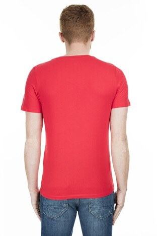Jack & Jones Core Jcolee Erkek T Shirt 12179376 KIRMIZI