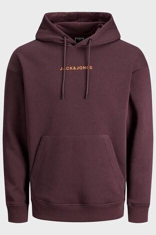 Jack & Jones - Jack & Jones Core Jcomarco Erkek Sweat 12192830 BORDO