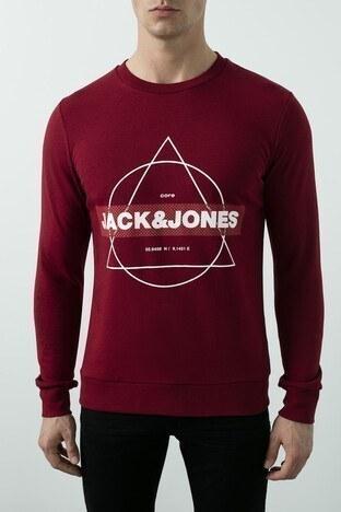 Jack & Jones Core Jcoperfect Erkek Sweat 12180200 KIRMIZI