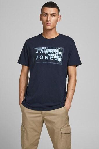 Jack & Jones Core Jcoshawn Erkek T Shirt 12185035 LACİVERT