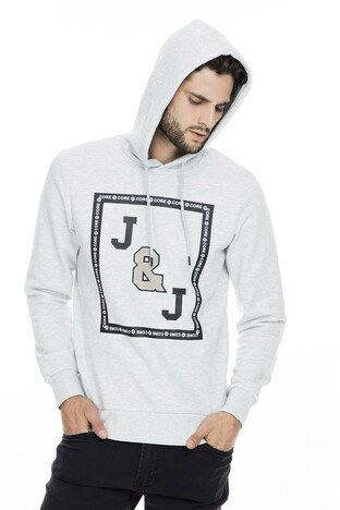Jack & Jones Core Jcotauri Erkek Sweat 12157814 AÇIK GRİ