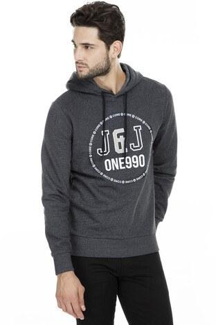 Jack & Jones Core Jcotauri Erkek Sweat 12157814 KOYU GRİ
