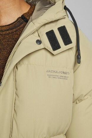 Jack & Jones Core Jcotrant Kapüşonlu Şişme Erkek Mont 12178729 CAMEL