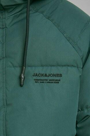 Jack & Jones Core Jcotrant Kapüşonlu Şişme Erkek Mont 12178729 YEŞİL