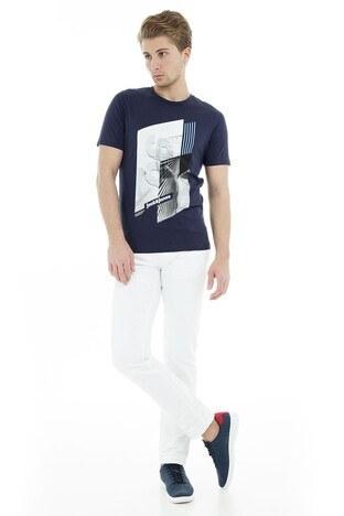 Jack & Jones Core Jcowill Tee Erkek T Shirt 12148561 LACİVERT