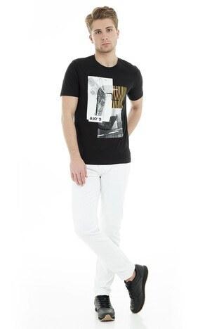 Jack & Jones Core Jcowill Tee Erkek T Shirt 12148561 SİYAH