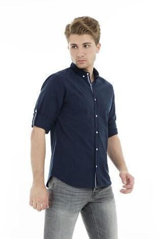 Jack & Jones Core Jcoyork Shirt Erkek Gömlek 12135700 LACİVERT