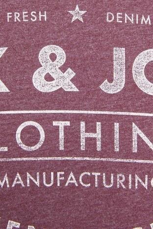 Jack & Jones Essentials /BORDO/XS Erkek T Shirt 12157339