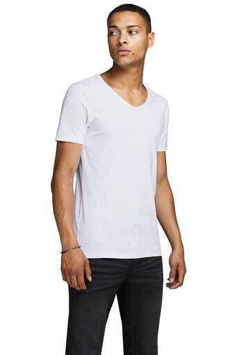 Jack & Jones Essentials Jjebasic /BEYAZ/XS Erkek T Shirt 12059219