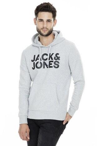 Jack & Jones Essentials Jjecorp Erkek Sweat 12152840 AÇIK GRİ