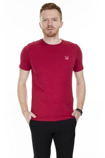 Jack & Jones Essentials Jjedenim Erkek T Shirt 12164931 KIRMIZI
