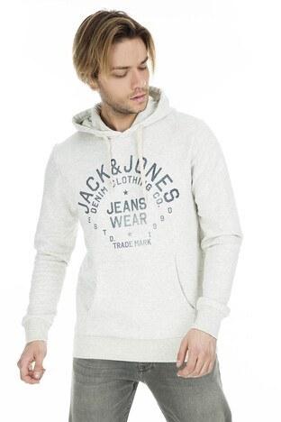 Jack & Jones Essentials Jjejeans Erkek Sweat 1213-7057 BEJ