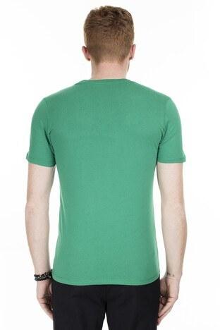 Jack & Jones Essentials Jjelogo Slim Fit Erkek T Shirt 12164848 YEŞİL